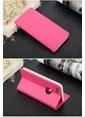 Totu Design Book Series iPhone 6 Side Leather Standlı Kılıf  Pembe